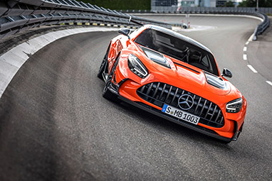 Interior Mercedes AMG GT Black Series 2021